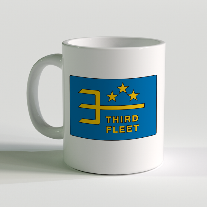 USN Third Fleet Coffee Mug, US Navy Third Fleet