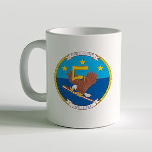 USN Fifth Fleet Coffee Mug, US Navy 5th Fleet
