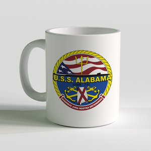 USS Alabama Coffee Mug, SSBN-731,