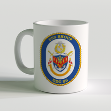 USS Shoup Coffee Mug, USS Shoup, DDG 86