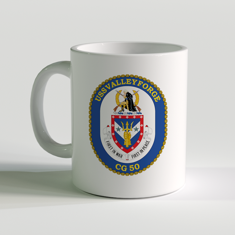 USS Valley Forge Coffee Mug, USS Valley Forge, CG 50