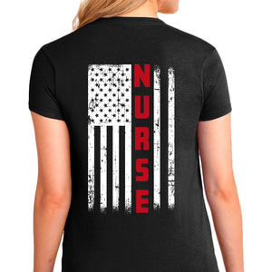 Ladie's Nurse T-Shirt - First Responder Shirt for Women, Nurse apparel, First responder, first responder apparel for women