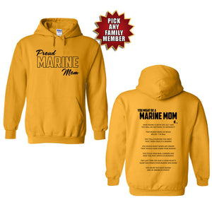 Marine Graduation Hoodies