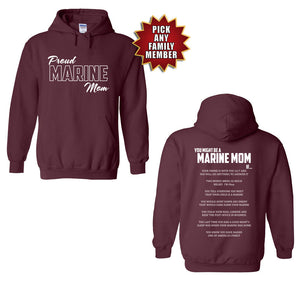 Marine Family Day Hoodies