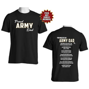 You Might Be an Army Family If – Army Graduation T-shirt