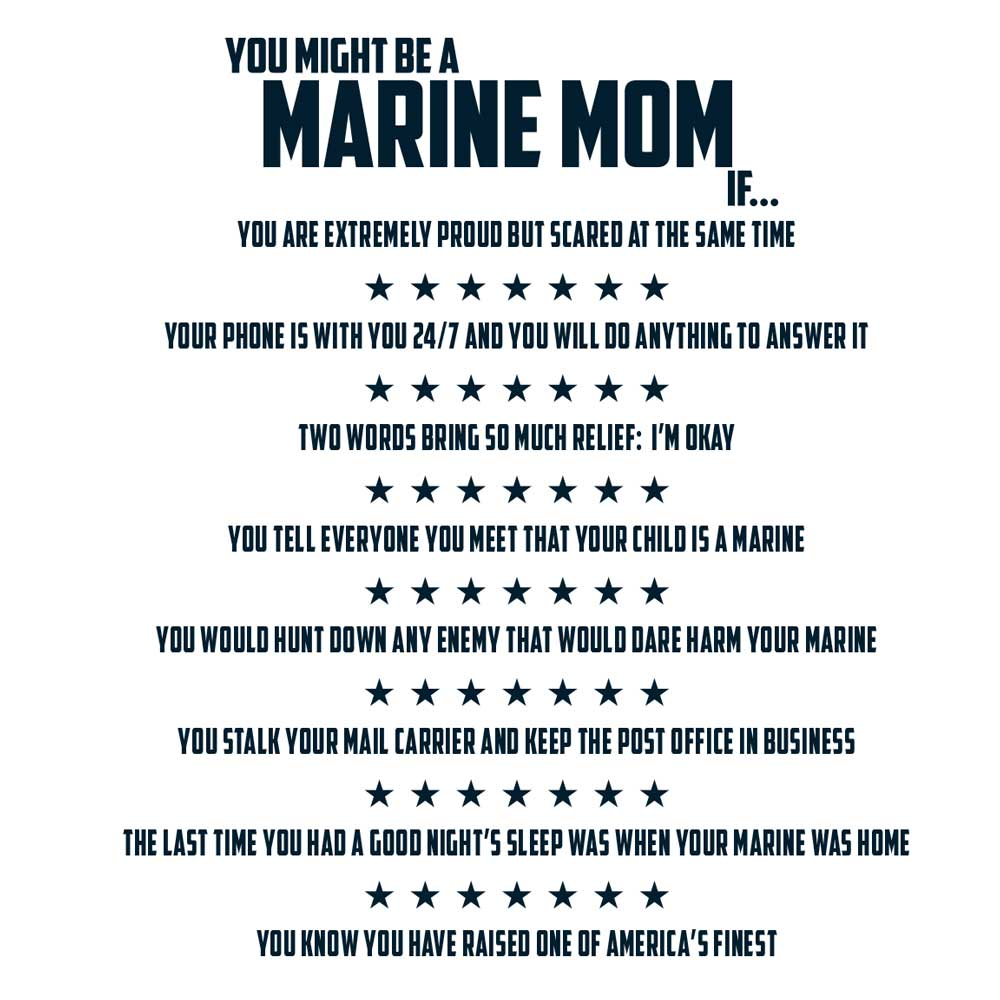 Proud Marine Dad