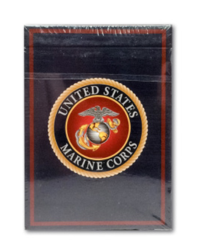 USMC Playing Card Packaging