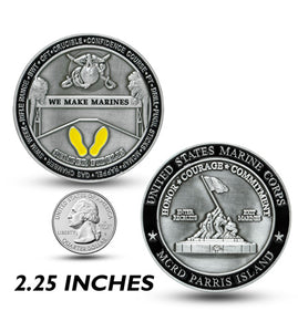 We Make Marines Challenge Coin