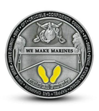 Marine Corps Recruit Depot Parris Island Challenge Coin