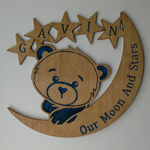 Adorable Bear Nursery Wall Hanging