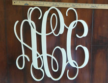 Load image into Gallery viewer, Tall Wooden Monogram Initials
