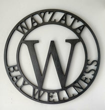 Load image into Gallery viewer, Lobby / Entry / Wall Statement Piece Monogram - perfect for a business!
