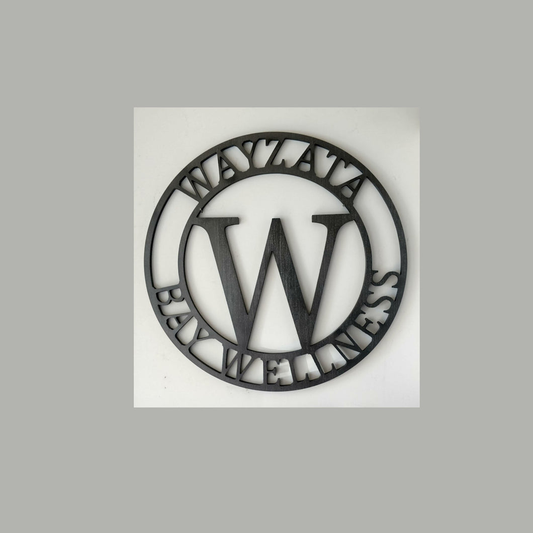 Lobby / Entry / Wall Statement Piece Monogram - perfect for a business!
