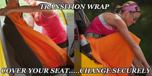 Dirty 30 Transition Wrap, Towel, Seat Cover