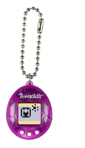 Tamagotchi Game ChiBi PDQ with Logo, Purple/White
