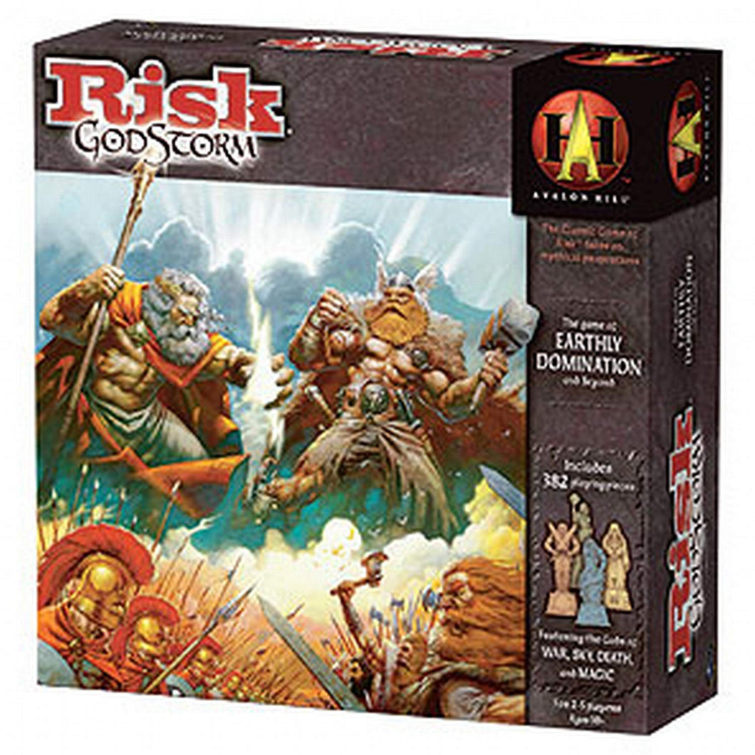 Wizards of The Coast Juego Risk Godstorm