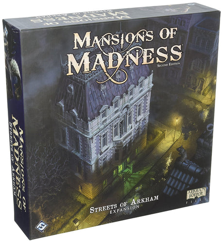 Fantasy Flight Games Mansions of Madness Second Edition: Streets of Arkham