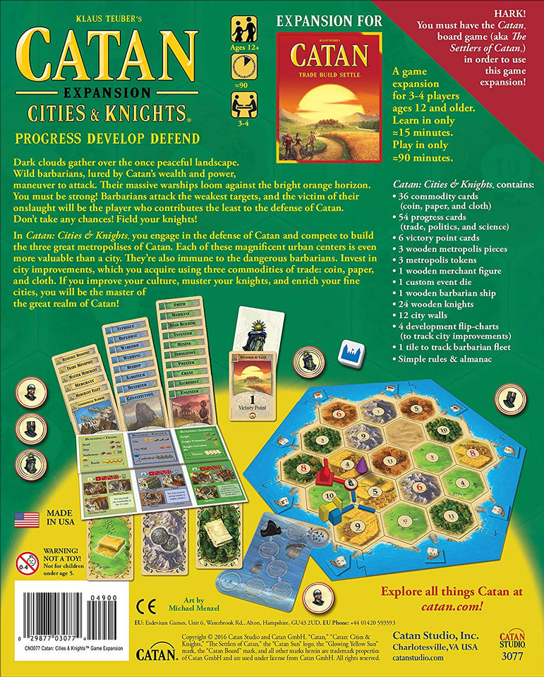 Mayfair Games Catan Expansion: Cities and Knights
