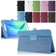 "Load image into Gallery viewer, Samsung Galaxy Tab E 9.6"" (T560 T565) Magnetic Leather Case"