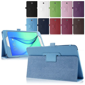 "Samsung Galaxy Tab E 9.6"" (T560 T565) Magnetic Leather Case"