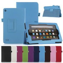 "Load image into Gallery viewer, Amazon Fire HD 10"" Magnetic Leather Case"