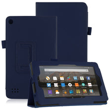 "Load image into Gallery viewer, Amazon Fire HD 8"" Magnetic Leather Case"