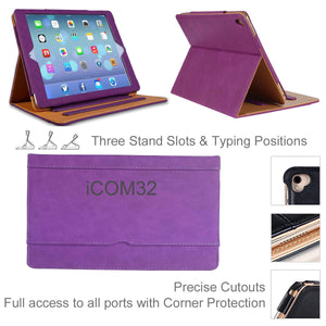 "iPad Pro 12.9""Luxury Magnetic Leather Smart Case"