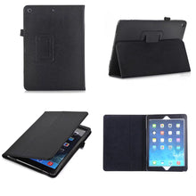 "Load image into Gallery viewer, iPad 9.7"" (2017/2018) Magnetic Leather Case"
