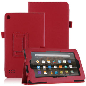 "Amazon Fire HD 8"" Magnetic Leather Case"