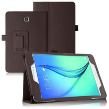 "Load image into Gallery viewer, Samsung Galaxy Tab A 9.7"" (T550 T555) Magnetic Leather Case"