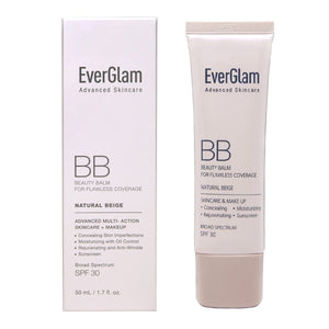 EverGlam K-Beauty Skin Perfector BB Cream - Natural, Flawless Look in Seconds | All-In-One Benefits: Amazing Coverage, Long-Lasting Moisturizer, Nourishing Skincare & Sunscreen | Light Medium