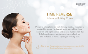 EverGlam Lifting Cream - TIME REVERSE Advanced Anti-Aging Face Cream | Ultra Firming & Tightening Cream Targeting Wrinkles, Fine Lines, Facial Contours, Skin Elasticity & Hydration