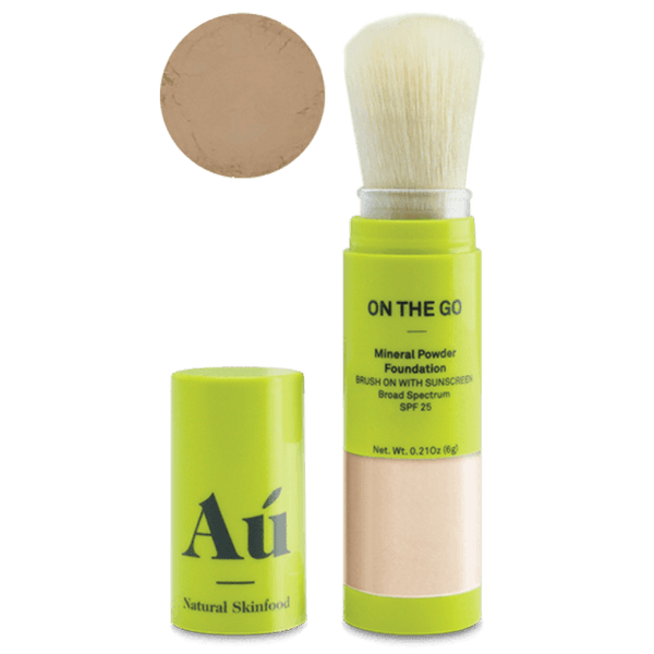 On the Go | Powder Sunscreen SPF25 Face AU Dark