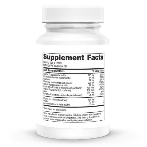 B-Complex Methylated Supplements NURTURE BY METAGENICS