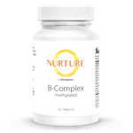 B-Complex Methylated Supplements NURTURE BY METAGENICS 30 tablets