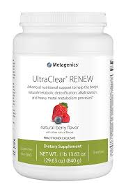 UltraClear® RENEW Supplement METAGENICS 819g - Berry