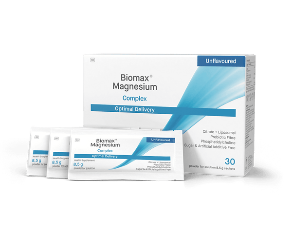 Biomax Magnesium Advanced Delivery® Supplement COYNE HEALTHCARE 30 sachets Unflavoured