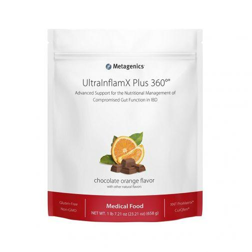 UltraInflamX® Plus 360 Supplement METAGENICS Chocolate Orange - 658g