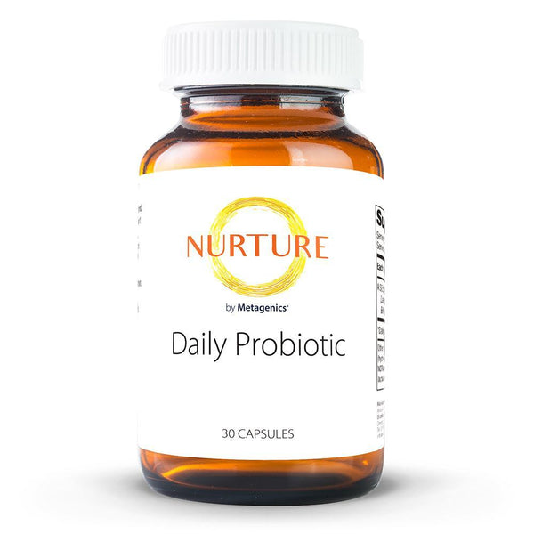 Daily Probiotic Supplements NURTURE BY METAGENICS 30 capsules