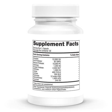 Digestive Enzymes Supplements NURTURE BY METAGENICS