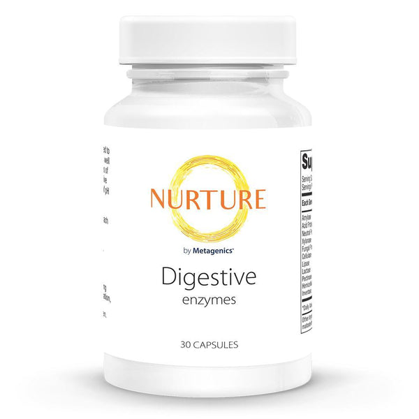 Digestive Enzymes Supplements NURTURE BY METAGENICS 30 capsules