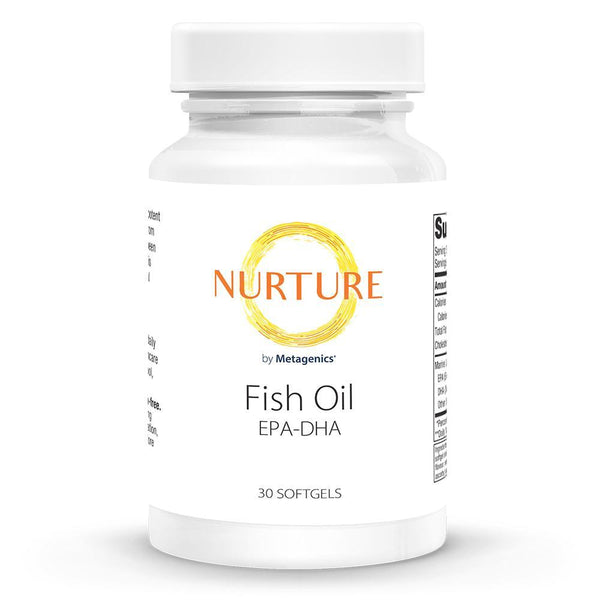 Fish Oil Supplements NURTURE BY METAGENICS 30 softgels