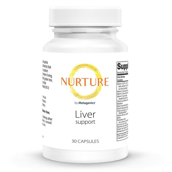 Liver Support Supplements NURTURE BY METAGENICS 30 capsules