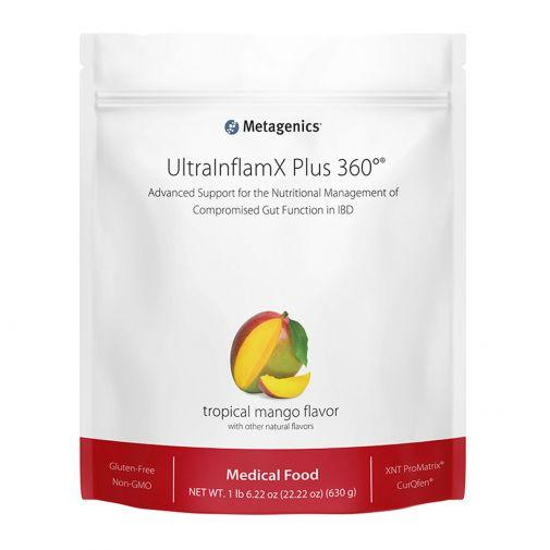 UltraInflamX® Plus 360 Supplement METAGENICS Mango - 630g