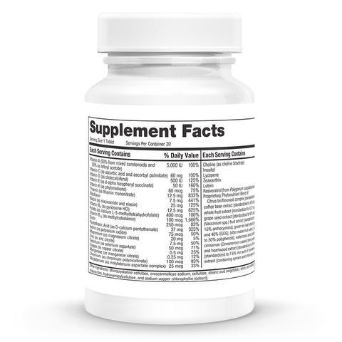 Multi-Vitamin With Phytonutrients Supplements NURTURE BY METAGENICS
