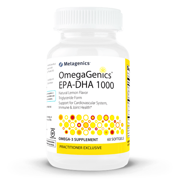 OmegaGenics EPA-DHA 1000 Supplement METAGENICS