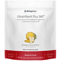 UltraInflamX® Plus 360 Supplement METAGENICS Pineapple Banana - 658g