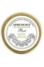 Rose Body Balm: To balance our feminine aspect and restore serenity. Roses have always been a powerful symbol, as well as a potent treatment for hormonal, menopausal and sexual difficulties. Africology taps into the power of the rose to calm and restore in this gentle balm. We use Rose Oil to treat dermatitis and aging skin. We love its aromatherapeutic properties, as it is a mild anti-depressant and balances the emotions. It also can help balance hormonal skin.