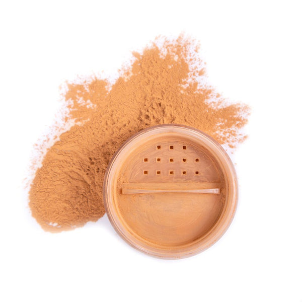 Powder | Loose Makeup LULA FOX Golden kiss finishing powder
