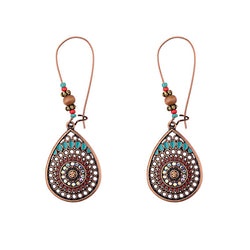 Bohemian Vintage Indian Jhumka Water Drop Earrings - Shes Lady